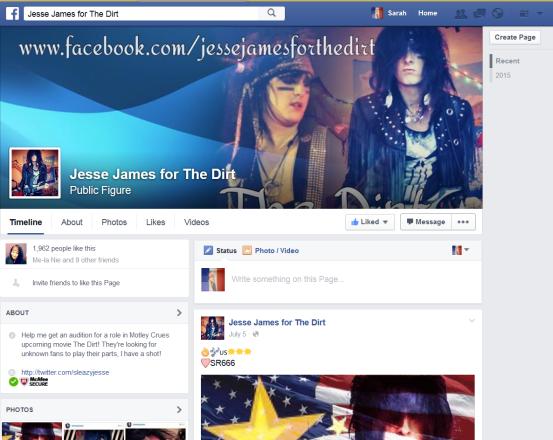 jesse facebook