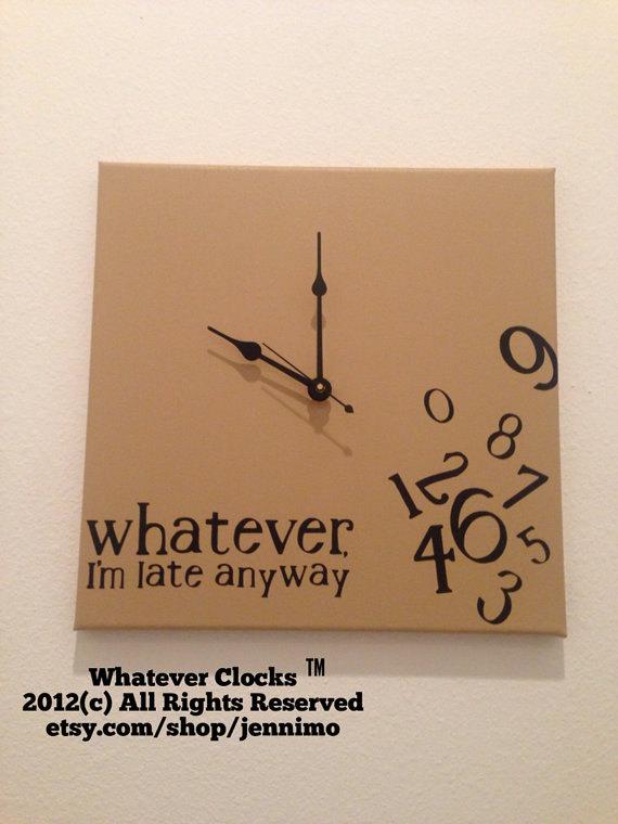 whatever clocks