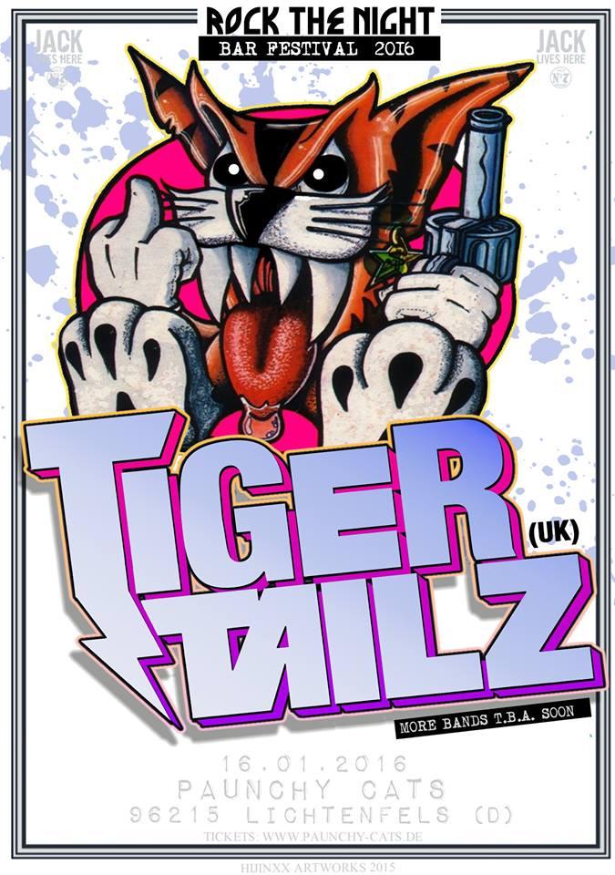 Tigertailz paunchy