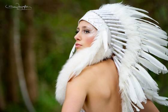 sandragrafie-indianer