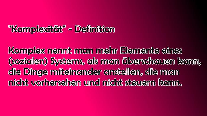definition-komplex