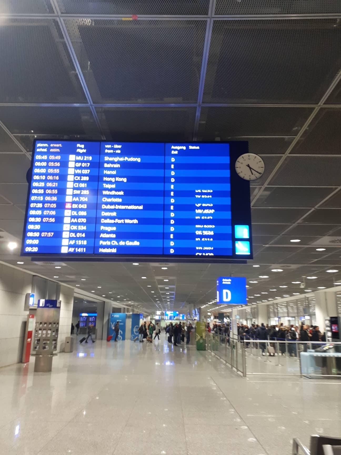 london airport frankfurt