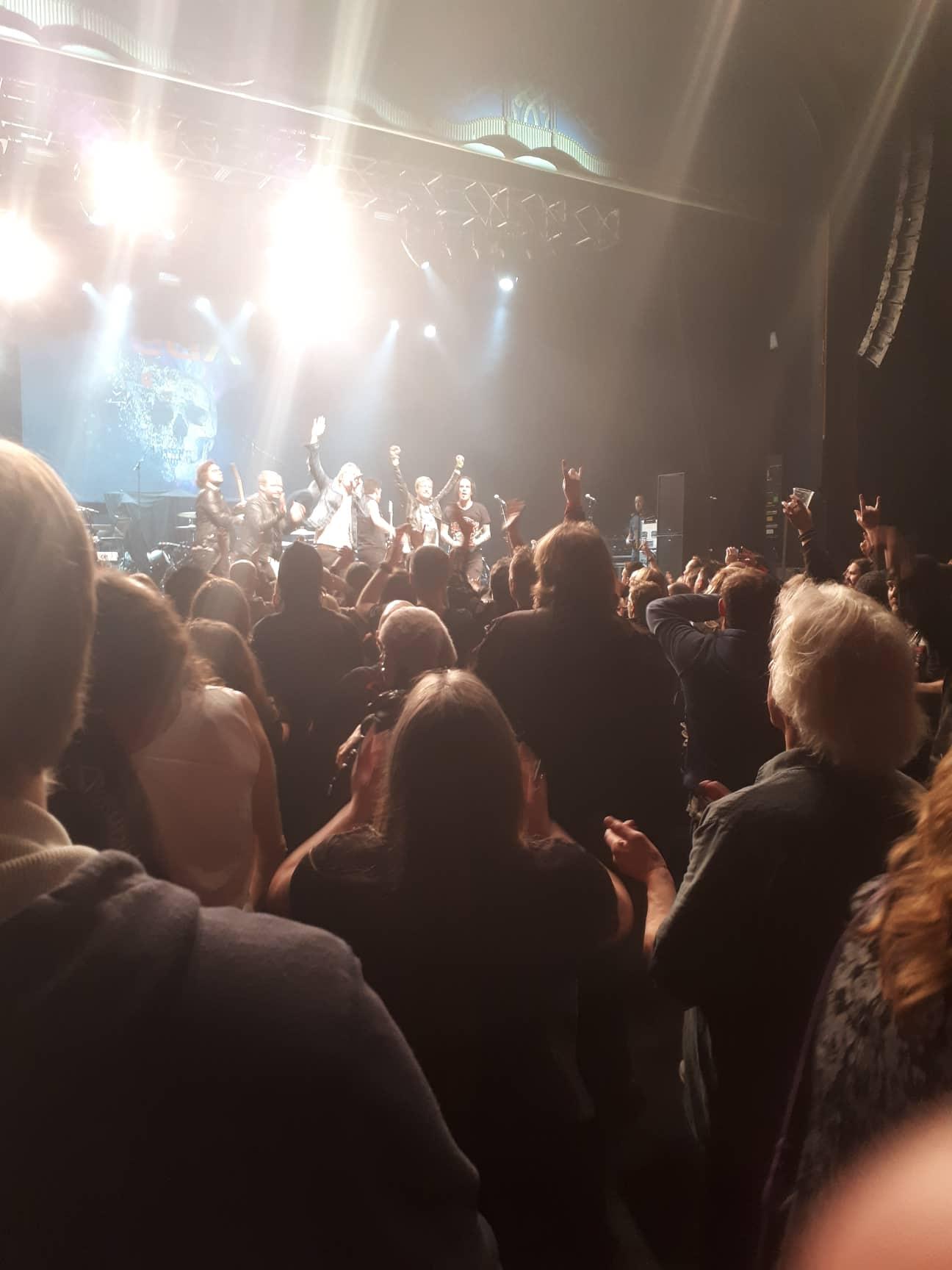 london crowd