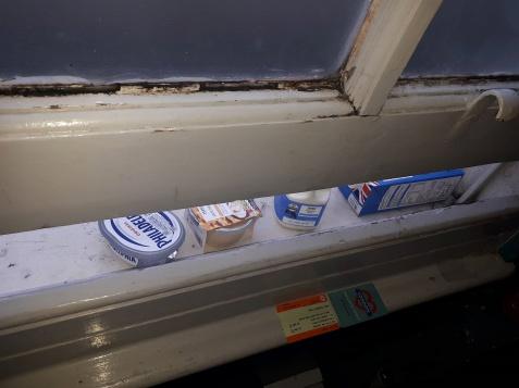 london hostel fridge